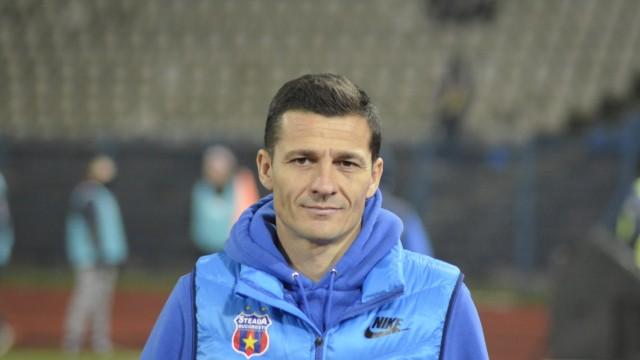 Costel Gâlcă, bucuros de accederea Stelei în semifinalele Cupei