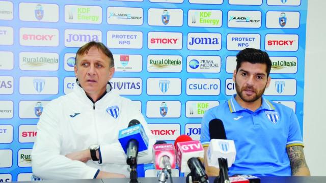 Emil Săndoi şi Pablo Brandan sunt conştienţi că va fi greu cu Steaua, dar cred că pot obţine calificarea în semifinalele Cupei
