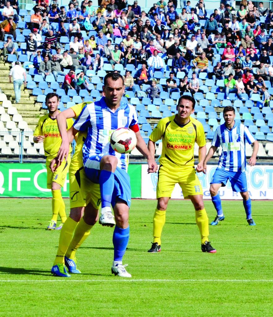 """Căpitan în Liga a II-a, Mihăiţă Pleşan a fost tras pe """"linie moartă"""" în Liga I şi forţat să plece (Foto: Arhiva GdS)"""
