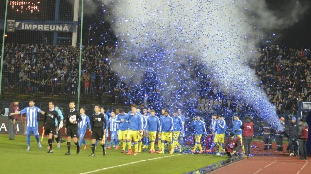Jucătorii au fost impresionaţi de atmosfera din tribune când au intrat pe teren