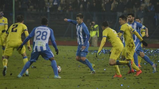 Ferfelea şi colegii săi au părăsit Cupa României cu capul sus