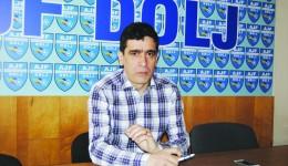 Silviu Bogdan este mulţumit de faptul că grupele de juniori de la CSU Craiova au progresat ()