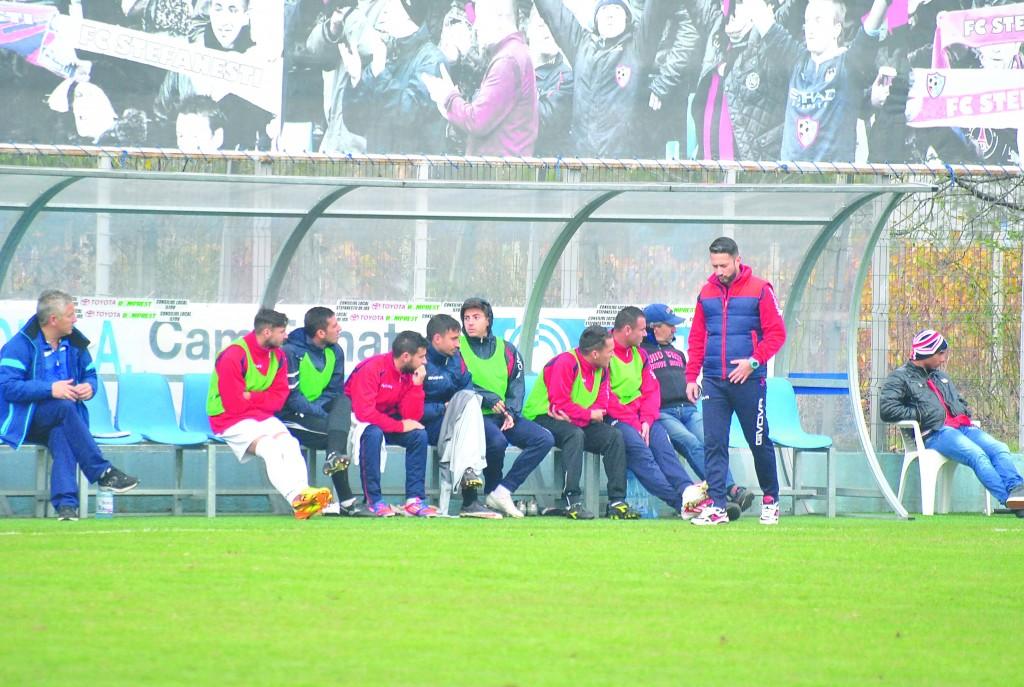 Antrenorul Dragoş Bon îşi doreşte să facă din CS Podari o echipă respectată în Liga a III-a
