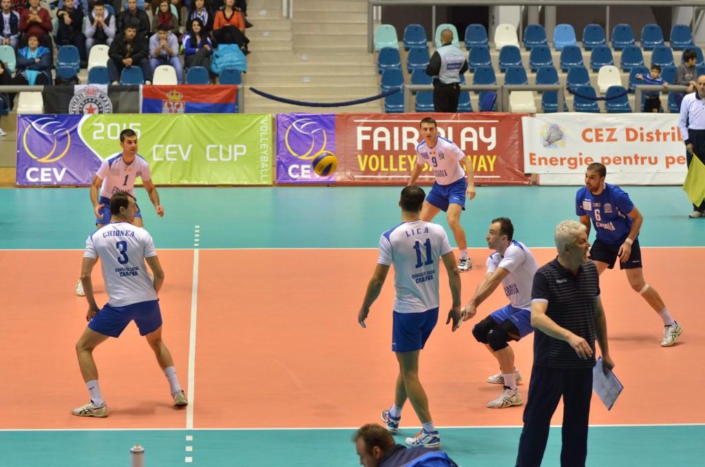 Voleibaliștii craioveni au obținut o victorie categorică în Ungaria