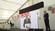Preşedintele CJ Dolj, la deschiderea lucrărilor la fabrica ETI din Parcul Industrial