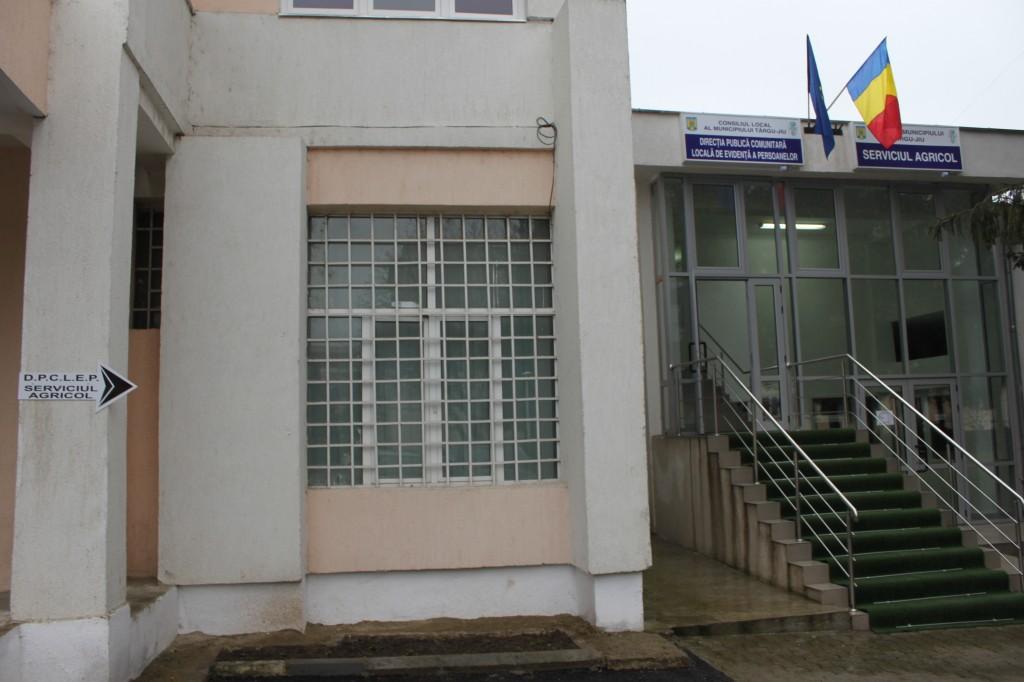 Noul sediu al Direcţiei Publice Comunitară de Evidenţă a Persoanelor Târgu Jiu