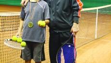 Alex Coman şi antrenorul Marian Dragu, o echipă de succes (Foto: Claudiu Tudor)