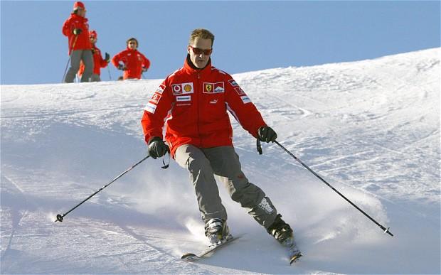 Michael Schumacher a făcut progrese mari după accidentul suferit la schi în urmă cu aproximativ un an