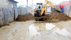 Pe Aleea 1 Odesa doar ce au început lucrările la canalizare - Foto: Anca Ungurenuş