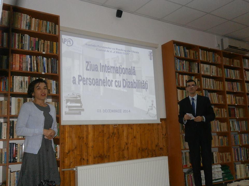 Biblioteca a fost inaugurată pe 3 decembrie, când se marchează Ziua Internaţională a Persoanelor cu Dizabilităţi