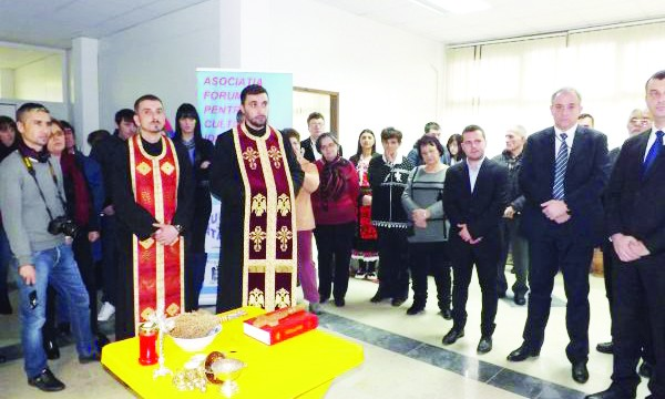 Centrul Cultural a fost inaugurat în prezența autorităților și a membrilor comunității  de români din Kladovo