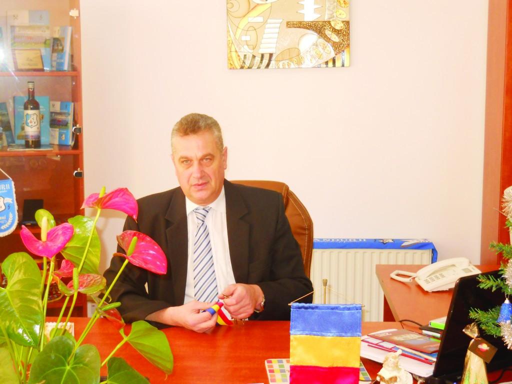 Romeo Chiriac, şeful AJOFM Gorj