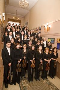 Artiştii Orchestrei Simfonice a Filarmonicii Republicii Moldova