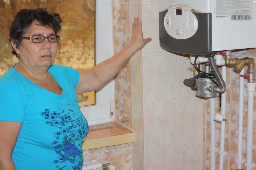 Jeni Georgeta Titi, între Termoficare și centrala pe gaze, se încălzește la caloriferul electric