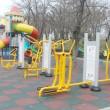 Locul de joacă face parte dintr-un acord-cadru de achiziție și montaj locuri de joacă atribuit anul trecut firmei King Industrial Enterprises SRL Bucureşti Foto: Traian Mitrache