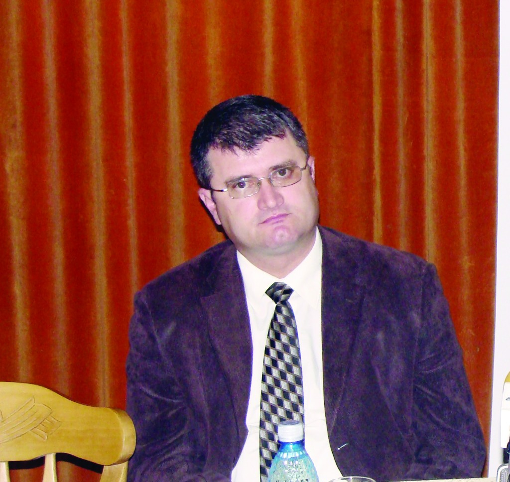Dumitru Hortopan, directorul Muzeului Judeţean Gorj