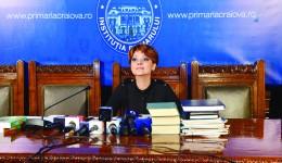 Primarul susține că a muncit patru ani pentru lucrarea de doctorat (Foto: Lucian Anghel)