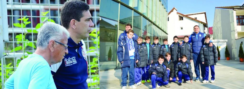 Ţâcă Zamfir şi Silviu Bogdan sunt bucuroşi de locul patru ocupat de juniorii lui Budescu şi Dumitru Barbu şi se aşteaptă şi la alte rezultate pozitive în viitor