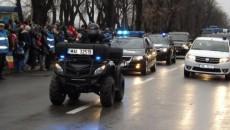 Cel mai aşteptat moment a fost defilarea militarilor din Drobeta Turnu Severin (Foto: adevarul.ro)