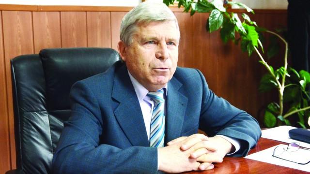 Marin Bădoiu, primarul comunei Unirea (Foto: Lucian Anghel)