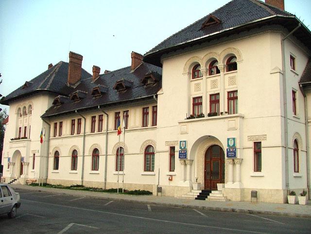 Sediul Primăriei Târgu Jiu (Foto: impactingorj.ro)