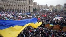 Criza din Ucraina, care a marcat anul 2014, a început cu proteste în Piaţa Independenţei din Kiev (Foto: nationalturk.com)