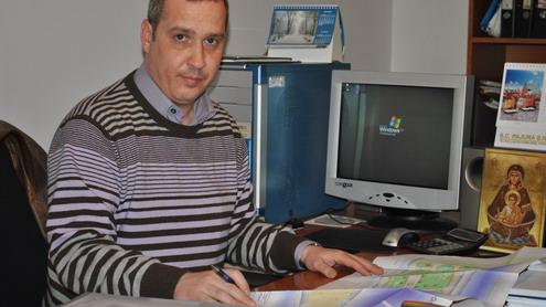 Raul Chiriac, şeful Serviciului Investiţii, din cadrul Primăriei Târgu Jiu