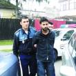 Bărbatul de 23 de ani a fost dus ieri la Parchetul de pe lângă Judecătoria Craiova, pentru a fi audiat de un procuror