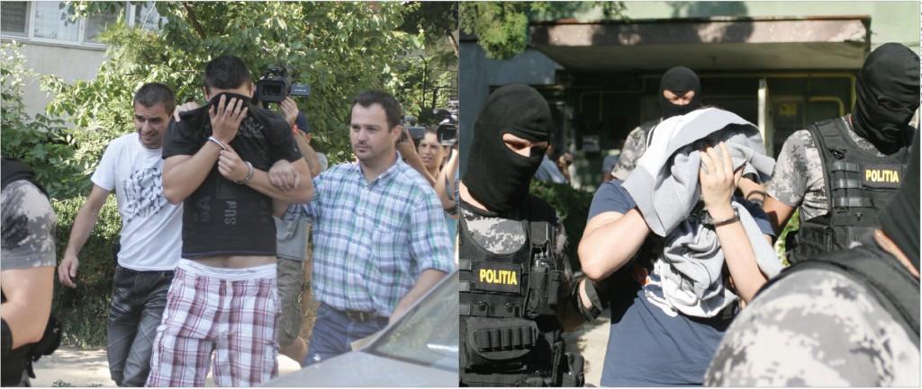Suspecții au fost ridicați pe 3 iulie 2012, în urma unei acțiuni coordonate de un procuror DIICOT (Foto: Arhiva GdS)