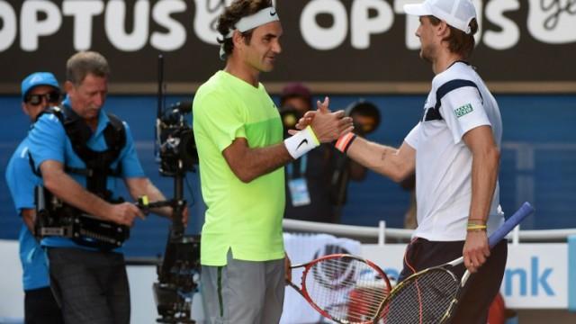 Italianul Seppi a obținut prima sa victorie în fața lui Federer