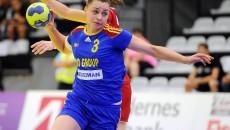 Bianca Tiron este jucătoare de bază a naționalei de tineret a României