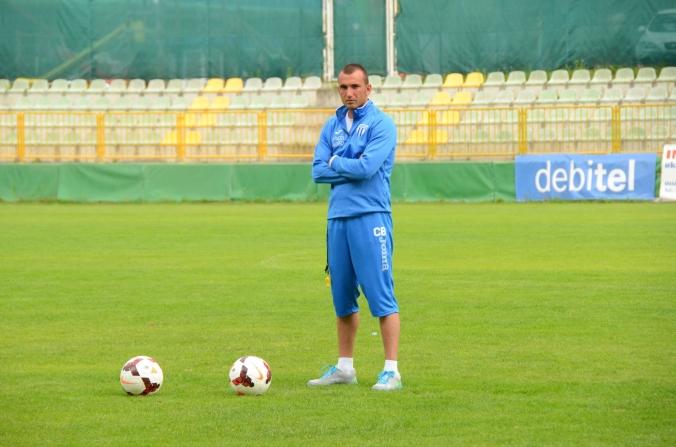 Cornel Blejan, omul care îi ține pe alb-albaștrii în formă, a împlinit astăzi 31 de ani (foto: csuc.ro)