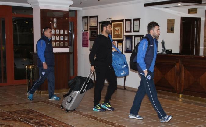 Jucătorii Craiovei au avut parte de o deplasare lungă spre Antalya (foto: csuc.ro)