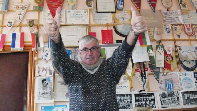 Fostul voleibalist Nicu Braun va susţine echipa craioveană din tribunele Sălii Polivalente