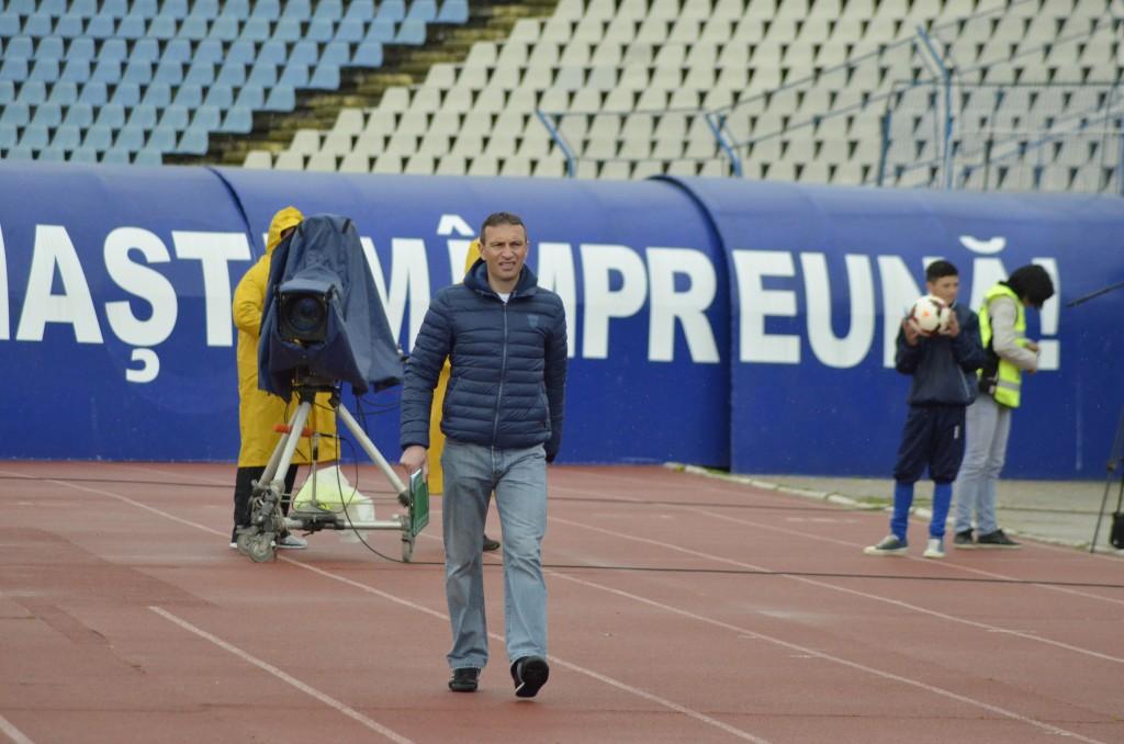 Dan Oprescu își mai dorește un atacant pentru retur (foto: Alexandru Vîrtosu)