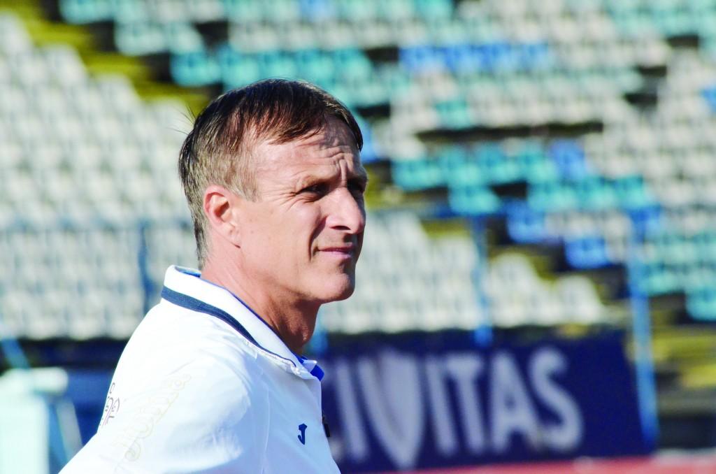 Emil Săndoi s-a declarat mulţumit după primul antrenament din Antalya (Foto: Alexandru Vîrtosu)