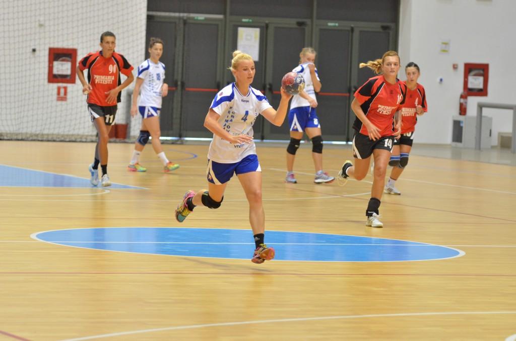 Aneta Pârvuț a ajutat Craiova să aibă un parcurs bun în turul campionatului