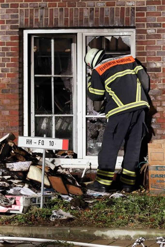 Germany France Attacks Arson