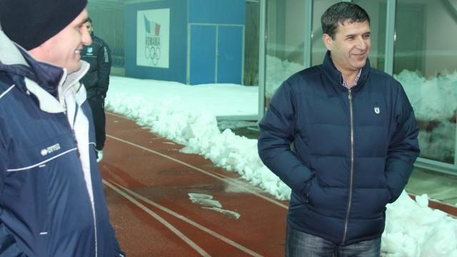 Eugen Pârvulescu (dreapta) are aşteptări mari de la Edi Iordănescu şi compania (FOTO: panduriics.ro)