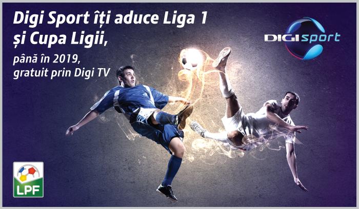 Liga 1 si Cupa Ligii la Digi Sport