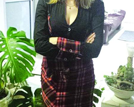 Loredana Gherasimescu, directoarea APIA Mehedinţi (Foto: Oana Mitu)