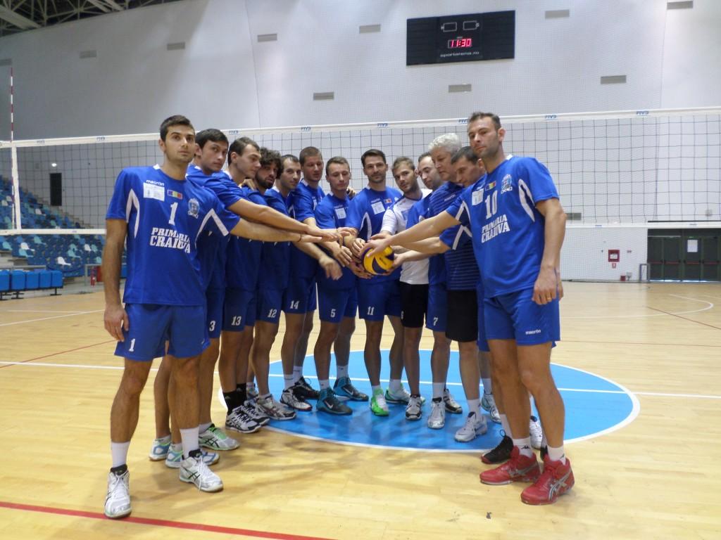Voleibaliștii lui Dănuț Pascu s-au calificat în premieră în sferturile de finală ale CEV Cup, urmând să întâlnească puternica echipă italiană Trentino (foto: arhiva GdS)