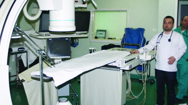 Clinica de Cardiologie a Spitalului Județean Craiova are nevoie de un angiograf nou (Foto: Claudiu Tudor)