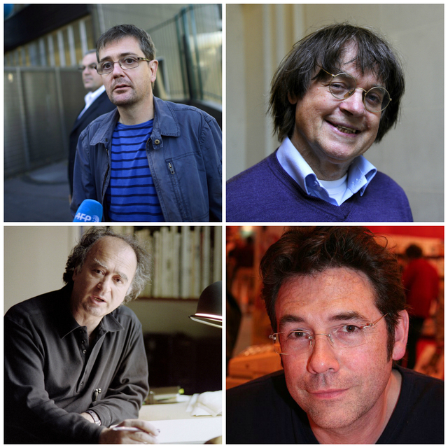 Stéphane Charbonnier, Jean Cabut,, Bernard Verlhac