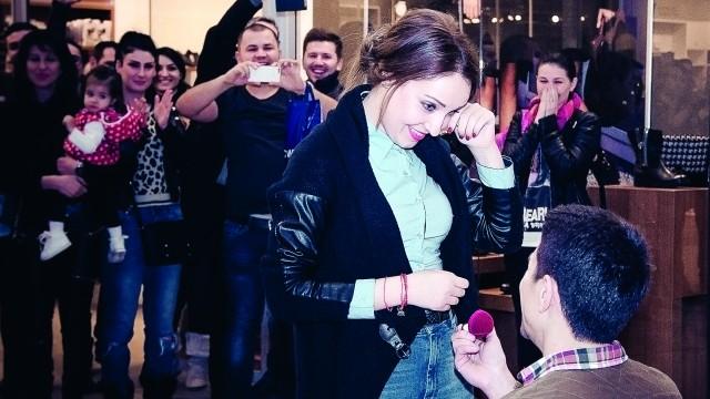Cosmin i-a pregătit Soranei o cerere în căsătorie specială (Foto: Valentin Raicea)
