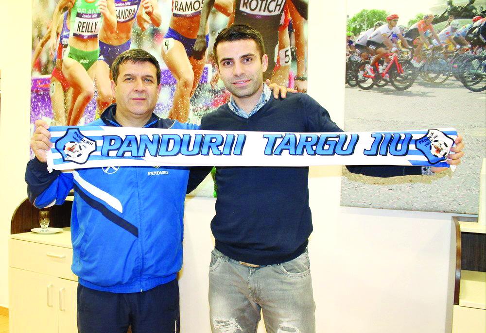 Eugen Pârvulescu l-a convins pe Constantin Grecu să revină la Pandurii (Foto: panduriics.ro)