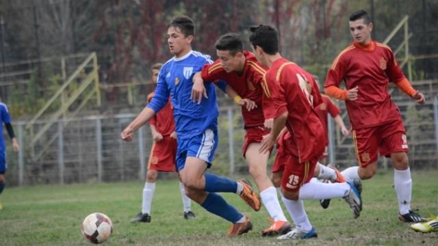 Jucătorii de 15 și 16 ani de la CSU își vor măsura forțele cu bulgarii de la Ludogorets (foto: csuc.ro)