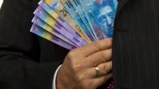 Francul elvețian a crescut foarte mult comparativ cu leul, astfel încât ratele celor împrumutați în cea mai volatilă valută s-au dublat (Foto: Evz.ro)