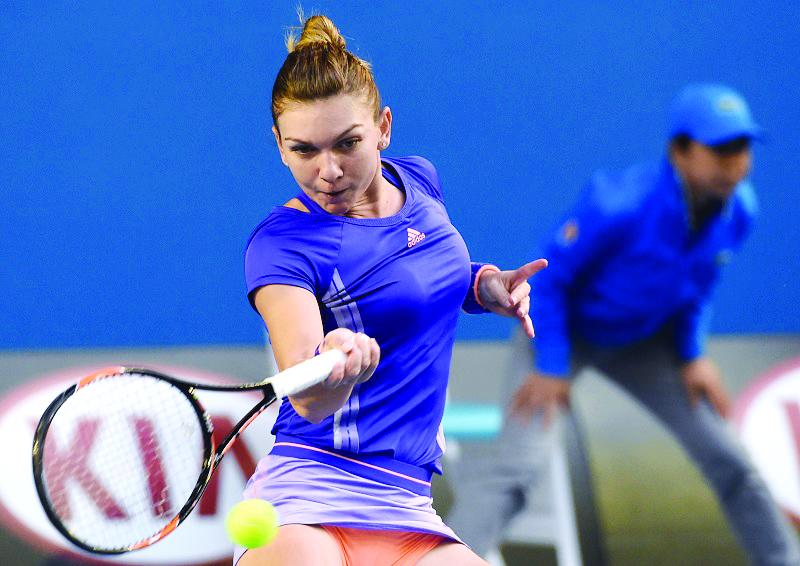 După victoria cu Wickmayer, Simona Halep rămâne pe podiumul clasamentului WTA