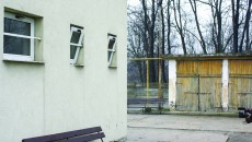Conducerea Clinicii de Psihiatrie spune că pacientul a reușit să agațe cearșaful de o gratie a ferestrei lăsate întredeschise (FOTO: GdS)